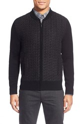 Men's Hugo Zip Front Cardigan Sweater