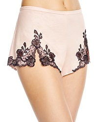 Josie Natori Lace Trim Tap Shorts