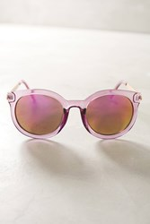 Anthropologie Maude Sunglasses Purple