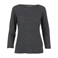 Majestic Breton Top Anthracite Chine Milk