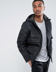 Only And Sons Lightweight Padded Jacket Black