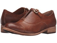 Kork Ease Niseda Rum Cognac Full Grain Women's Hook And Loop Shoes Brown