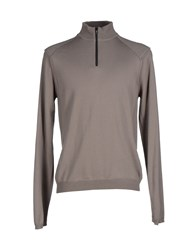 Emporio Armani Ea7 Knitwear Turtlenecks Men Dove Grey
