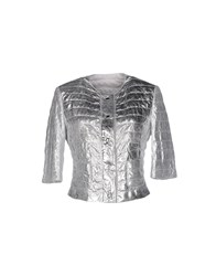 Vintage De Luxe Coats And Jackets Jackets Women Silver