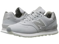 New Balance Wl574v1 Silver Mink Silver Mink Women's Running Shoes Gray