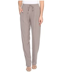 Three Dots Satin Pants Moonstone Women's Casual Pants Blue
