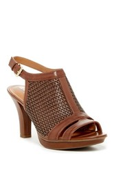 Naturalizer Dania Slingback Sandal Wide Width Available Brown