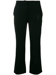 N 21 No21 Embroidered Detail Trousers Black