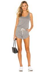 N Philanthropy Powder Romper Gray