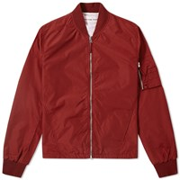 Universal Works Ma 1 Bomber Jacket Red