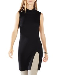 Bcbgmaxazria Ameuya Mock Neck Tunic Black