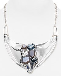 Robert Lee Morris Soho Statement Necklace 17 Gray
