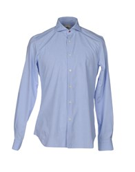 Domenico Tagliente Shirts Sky Blue