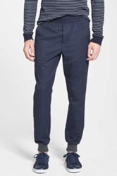 Vince Two Tone Jogger Pants Blue