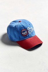 Urban Outfitters American Needle Dyer Chicago Cubs Baseball Hat Blue