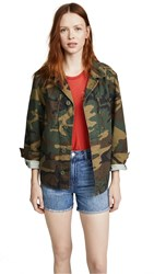 Alpha Industries French Field Coat Woodland Camo