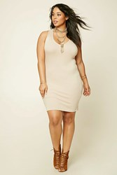 Forever 21 Plus Size Ribbed T Shirt Dress