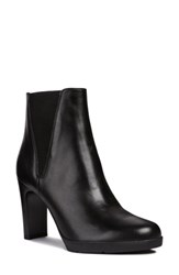 Geox Annya Bootie Black Leather