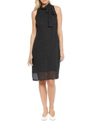 Walter Baker Gloria Sleeveless Cotton Dress Black