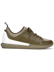Bally Lace Up Sneakers Green