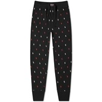 Polo Ralph Lauren All Over Pony Sleepwear Pant Black
