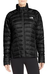 The North Face Women's 'Quince' Water Repellent Down Jacket Tnf Black