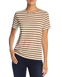Michelle By Comune Smithville Stripe Tee Olive White