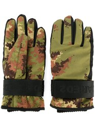 Dsquared2 Ski Technical Gloves Green