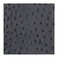 Amara Emu Effect Recycled Leather Placemat Slate