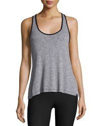 Koral Ferocity Twist Back Jersey Sports Tank Gray