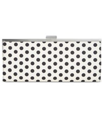 Styleandco. Style And Co. Carolyn Dot Print Clutch Only At Macy's Polka Dot