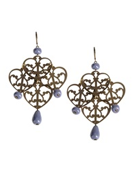 Erika Cavallini Semi Couture Erika Cavallini Semicouture Earrings Deep Purple