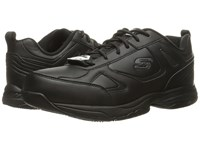 Skechers Dighton Black Synthetic Leather Men's Shoes