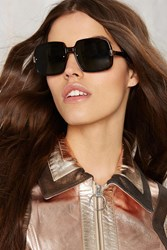 Nasty Gal Spitfire Puritan Square Glasses