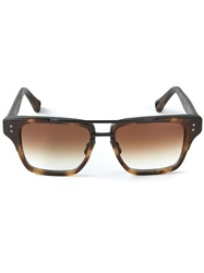 Dita Eyewear 'Mach Three' Sunglasses Brown