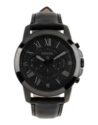 Fossil Timepieces Wrist Watches Men Black