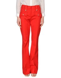 Vdp Collection Trousers Casual Trousers Women Red