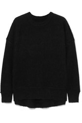 By Malene Birger Biaggio Brushed Knitted Sweater Black