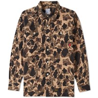 Wtaps Grove Shirt Brown