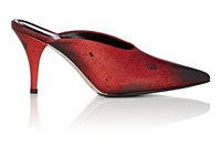 Calvin Klein 205W39nyc Roslynn Leather Mules Red