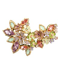 Naomi Floral Cluster Pin Jay Strongwater Multi Colors