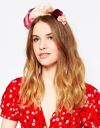 Johnny Loves Rosie Amber Statement Floral Headband Multi