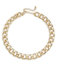 Design Lab Lord And Taylor Link Chain Necklace Gold