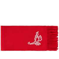 Off White Scorpion Scarf Red