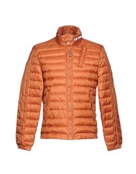 Club Des Sports Down Jackets Rust