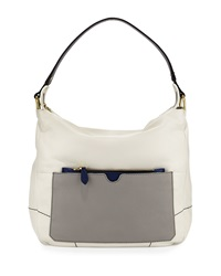 Oryany Adele Colorblock Shoulder Bag White Multi