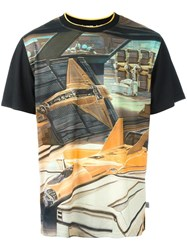 Opening Ceremony Syd Mead 'Jet Fighter' T Shirt Black