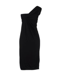 Anne Valerie Hash Short Dresses Black