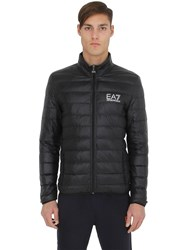 Emporio Armani Train Core Packable Light Down Jacket Black