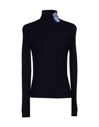 Bikkembergs Turtlenecks Dark Blue